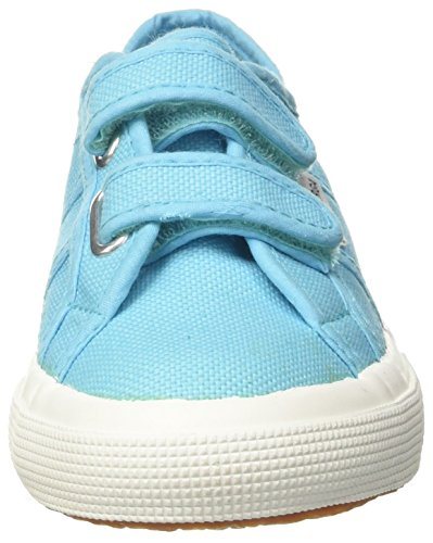 Superga 2750 JVEL Classic Unisex-Kinder Sneakers Turchese (Turquoise)