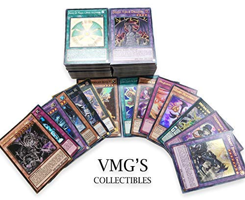 (200 Yugioh Cards! (50 Rares) No Duplicates! Holos Included!)