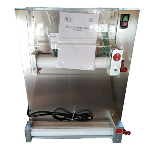 Wholesales Commercial 18inch 2 rollers Stainless steel pizza dough sheeter kneading machine Easy Operate Electric pizza dough roller press machine for dough kneader and dough moulder