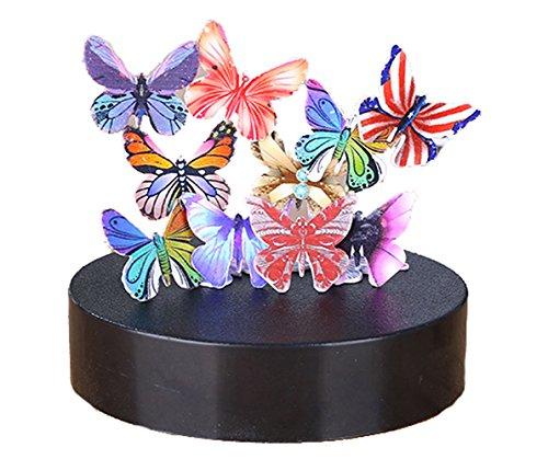 DOUMI Magnetic Sculpture Desk Toy Gift Decoration For Stress Relief,Intelligence Development (12 Butterflies)