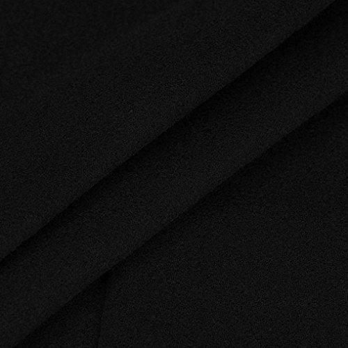 ESAILQ Abrigos Largos Cardigan De Moda Otoño E Invierno De Manga Larga Para Mujer Negro