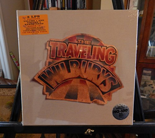 The Traveling Wilburys: 3 LPs, Featuring Volume 1 and Volume 3 Remastered. 1 of 5,000 Made. Bonus 12