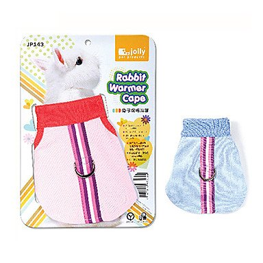 Quick shopping Warmer Nylon Textile Cape for Rabbits (Assorted colors)