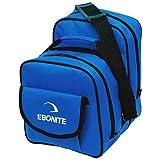 Ebonite Compact Single Bowling Ball Tote, Blue