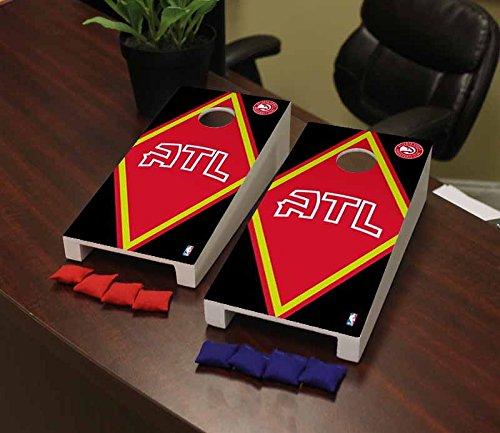 Victory Tailgate Atlanta Hawks NBA Basketball Desktop Cornhole Game Set Diamond Version by Victory Tailgate