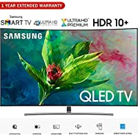 Samsung QN65Q7CNA 65 Q7 QLED Curved Smart 4K UHD TV (2018 Model)- (Certified Refurbished) with 1 Year Extended Warranty
