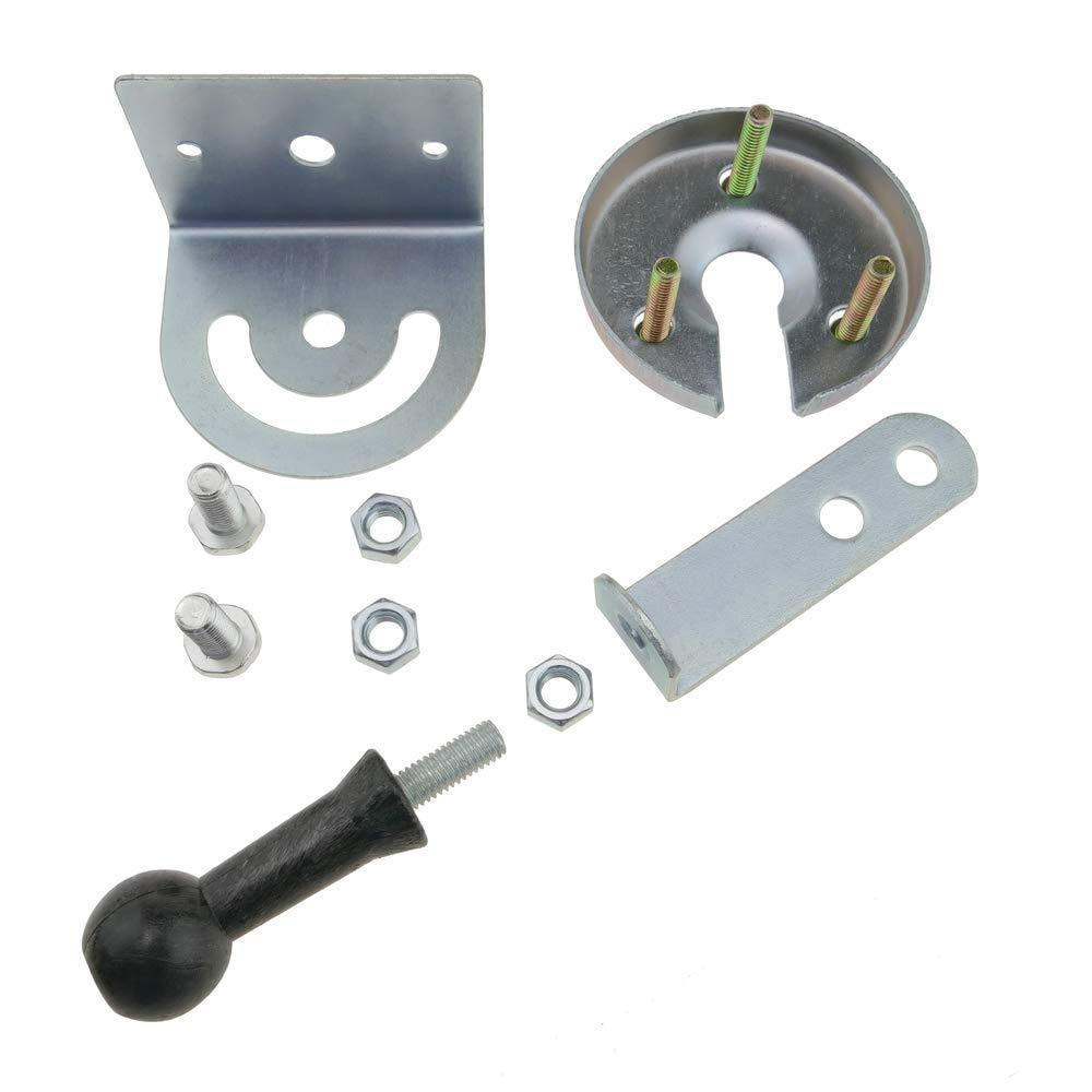 PrimeMatik Sistema di fissaggio per specchio convesso per la segnalazione e traffico 85mm