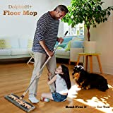 Dolphin+ 360° Spin Microfiber Floor Mop,Adjustable