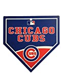 "Chicago Cubs MLB 9.25""x9.25"" Home Plate Street Sign"