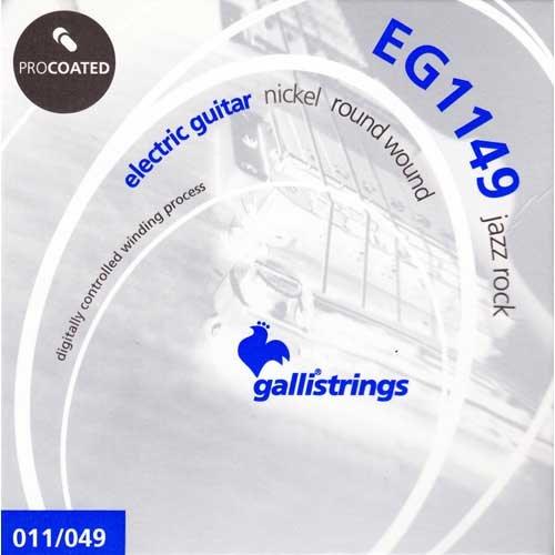 Galli EG1149 ELECTRIC Guitar PROcoated Nickel, jazz rock