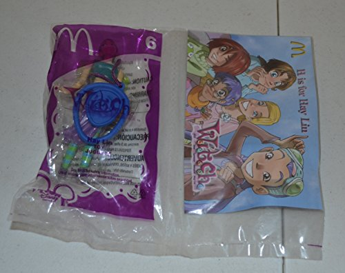 Mcdonalds Toy Figure - Mcdonalds W.i.t.c.h Hay Lin #6 Toy From 2005