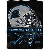 "NFL Carolina Panthers ""Prestige"" Raschel Throw Blanket, 60"" x 80"""