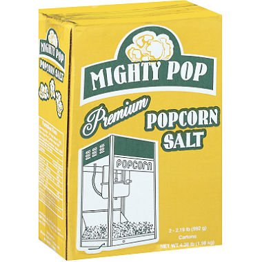 Mighty Pop Premium Popcorn Salt - 2/35oz cartons by Mighty Pop