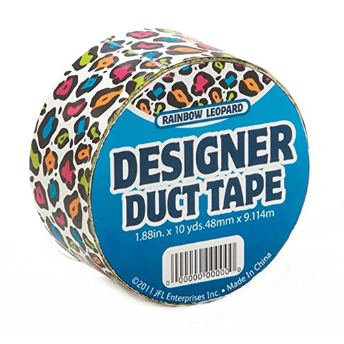 Just For Laughs JFL2517 Multi Color Cheetah/Leopard Duct Tape 1.88 in X 10 yds (48 mm x 9.114 m) -