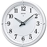 (セイコークロック) SEIKO CLOCK 自動全面点灯LEDライト付き電波壁掛け時計 KX393W 光センサー 白パール アナログ