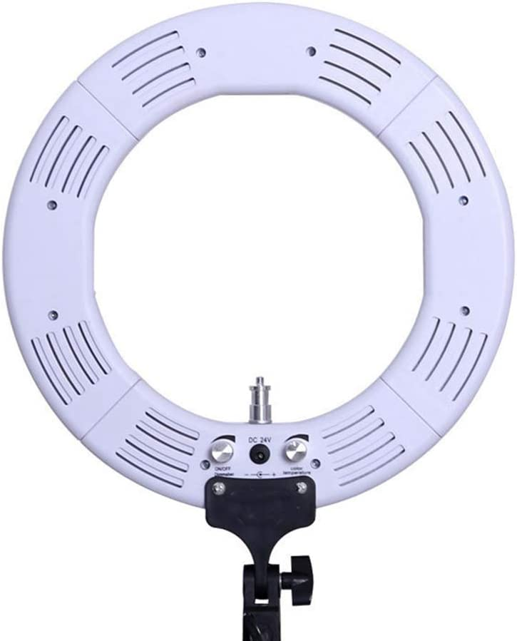 LED Ring Light,18//24Inch 2700K//5600K Bicolor Dimmable Lighting Kit with 78 Inch Light Stand Superbright Durable Adjustable Angle and Easy Assembly