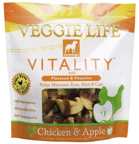 Dogswell Vitality Veggie Life Chicken and Apple 15 Oz, My Pet Supplies