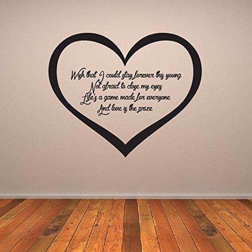 Wake Me Up Etiqueta de la pared Avicii Tatuajes de pared Arte ...