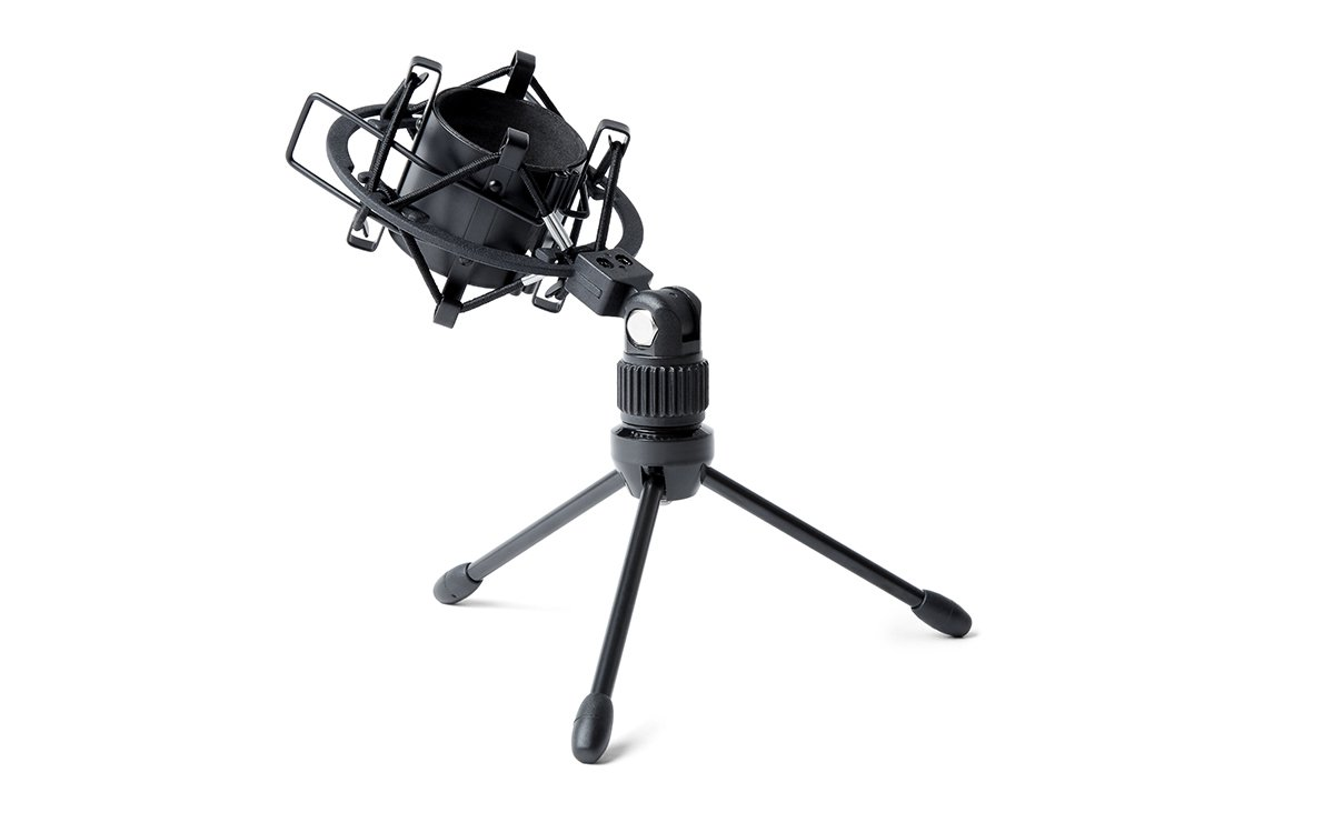 Marantz Professional MPM-1000 | Cardioid Condenser Microphone with Windscreen, Shock Mount & Tripod Stand (18mm/XLR Out) by Marantz Professional