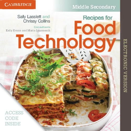Download Recipes for Food Technology Middle Secondary Electronic Workbook ebook