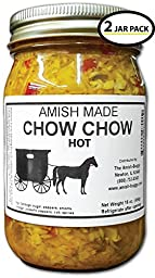 Chow Chow - 2-16 Oz Jar - Hot