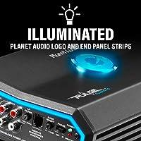 1 Ohm Stable Class D Monoblock Car Amplifier with Remote Subwoofer Control Planet Audio PL3000.1D Pulse 3000 Watt