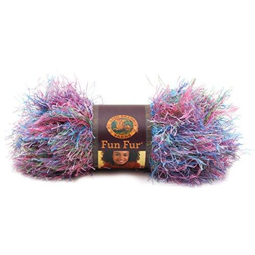(Lion Brand Yarn 320-208A Fun Fur Yarn, Tropical)