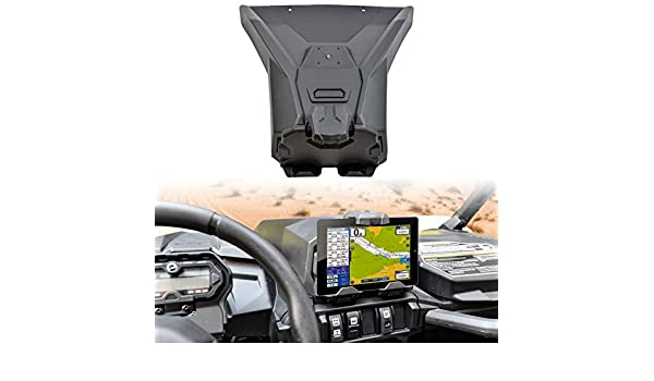 SAUTVS Electronic Device Tablet Phone Holder for Can Am Maverick Sport MAX Trail Storage Box Organizer Tray 715005212