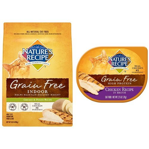 Nature S Recipe Grain Free In Broth Chicken Cat Food Reviews