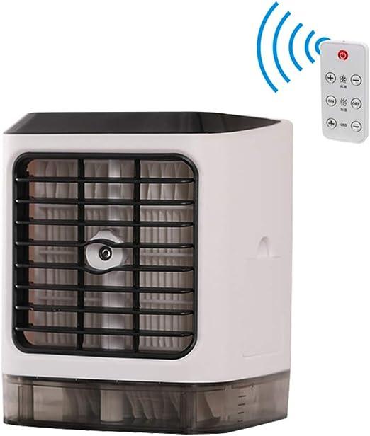 Fan Fan Mini Humidificador Ventilador de Refrigeración, Pequeño ...