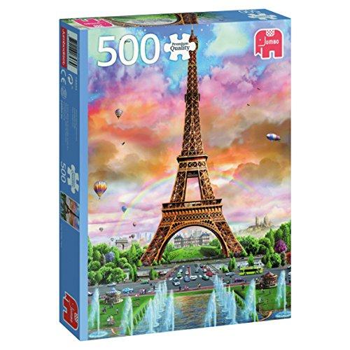 Jumbo Eiffel Tower Paris Jigsaw Puzzle (500 - Tower Puzzle Jigsaw Eiffel