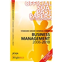 Business Management Standard Grade (G/C) SQA Past Papers 2010