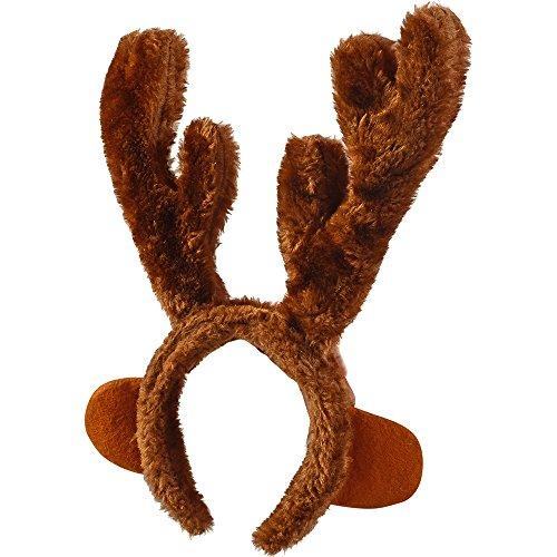 Christmas Headband Reindeer Antlers Costume