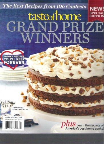 Taste of Home Grand Prize Winners Magazine (2012)