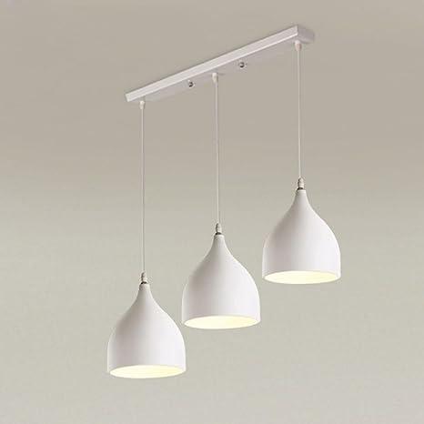 Moderno Lámpara colgante metal aluminio Trio - Lámpara de ...