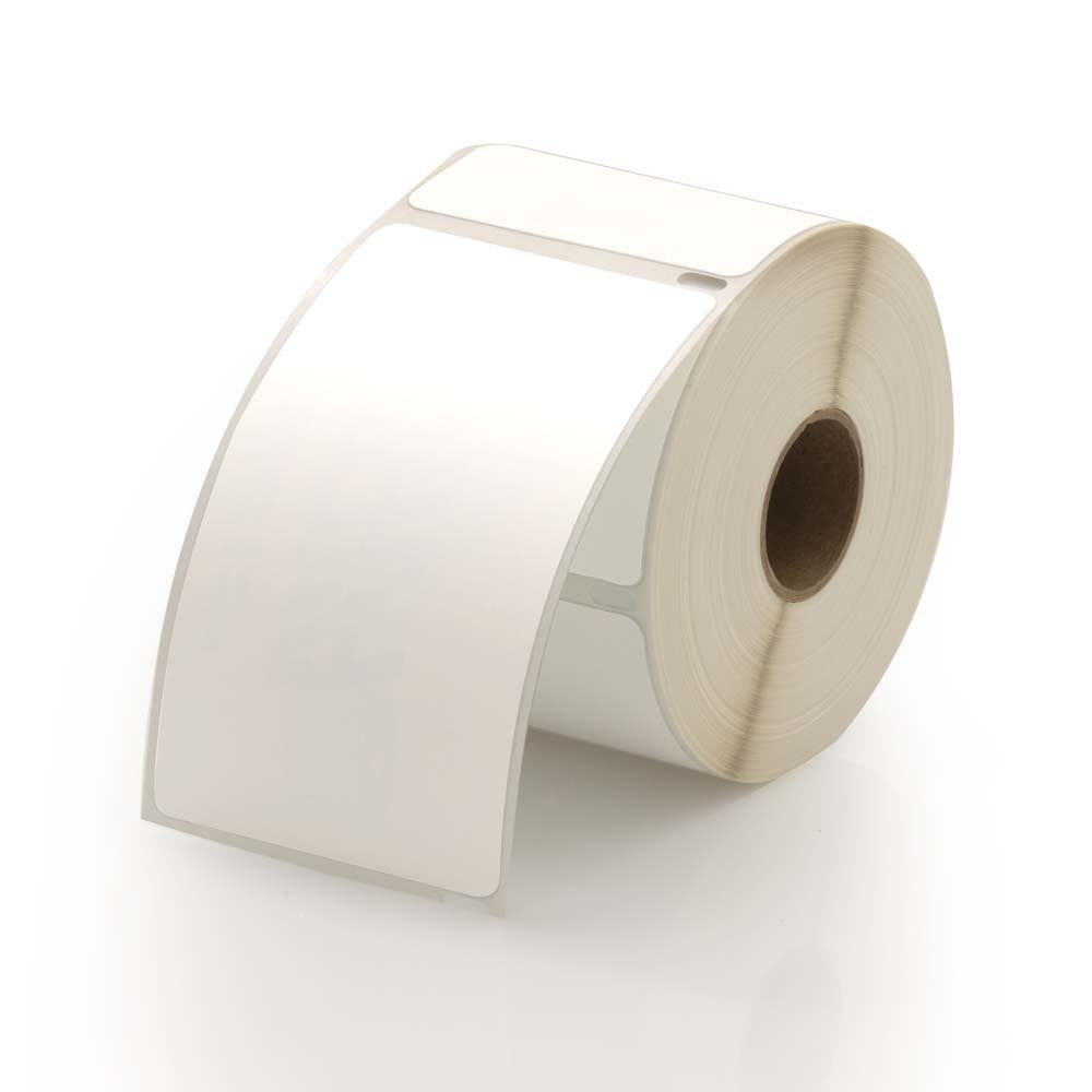 School Check In Compatible ID Badge Labels, White - 300 Badges Per Roll