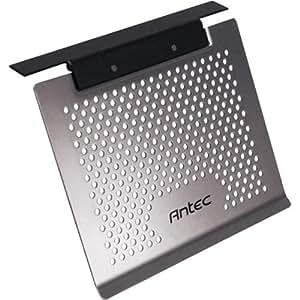 Antec Notebook Cooler Basic - Soporte de regazo para portátiles y netbooks (Gris, 269.2 x 238.7 x 27.9 mm, 300 g, Aluminio)