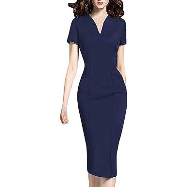 e8e6738714097 Image Unavailable. Image not available for. Color: Women's Business Retro  Cocktail Pencil Wear ...