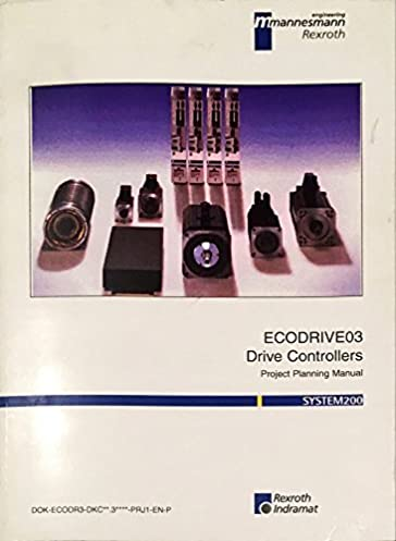 ecodrive03 drive controllers project planning manual system 200 rh amazon com Indramat Cable Indramat Distributors