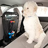 Evelots Easy To Install Auto Pet Barrier - Keep Dogs in Back Seat of Car, Black