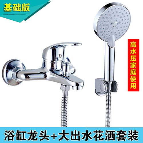 Based Mixer + Simple Package Kitchen Or Bathroom Sink Mixer Tap Water Heater Water Mixing Valve Water Tap Hot And Cold Three Full Copper Bathtub Water Tap Shower Water Tap Flush Mount Base Water Tap Single Water Tap + Solar Water).