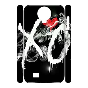 J-LV-F Cell phone Cases The Weeknd XO Hard 3D Case For Samsung Galaxy S4 i9500