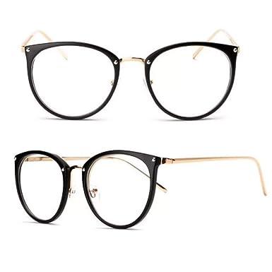 5e337322f Oculos De Grau Feminino Armação Em Acetato Geek Vintage Gato: Amazon ...