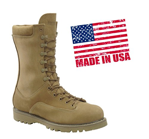 Men's Corcoran 10 inch Waterproof 400-gram Thinsulate Ultra Insulation Safety Toe Field Boots Olive