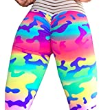 quicksilver trolley - Women's High Waisted Leggings Camouflage Yoga Pants Muranba (Multicolor, S)