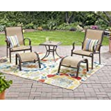 Mainstays Wesley Creek 5-Piece Leisure Set (Tan)