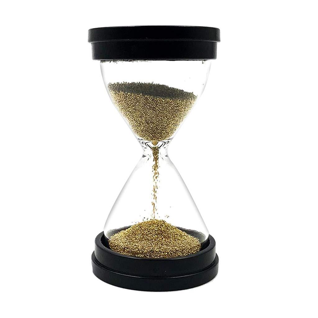 PETSOLA 30 Sekunden Zeitschaltuhr K/üche Timer Zahnputzuhr Sandclock f/ür Kinder Spielzeug Gold