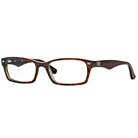8255a8a133b Ray Ban Eyeglasses RX 5206 2034 Top Black on Transparent  Amazon.ca ...