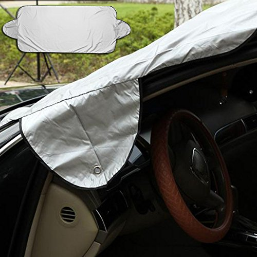 QCYM Prevent Snow Ice Sun Shade Dust Frost Freezing Car Windshield Cover Protector