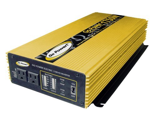 Go Power! GP-1750HD 1750-Watt Heavy Duty Modified Sine Wave Inverter by Go Power!